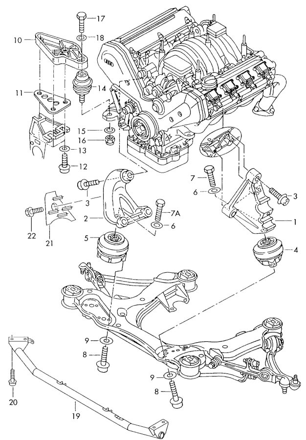audi a8 exhaust system diagram  audi  free engine image