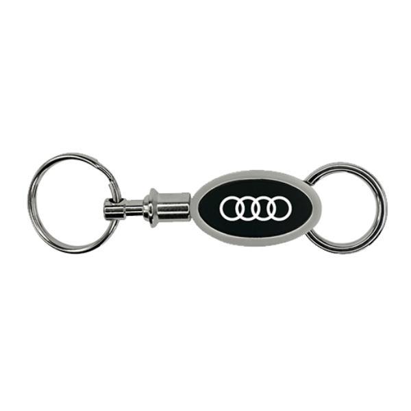 Audi Metal Pull-apart Valet Key Holder. Pullapart